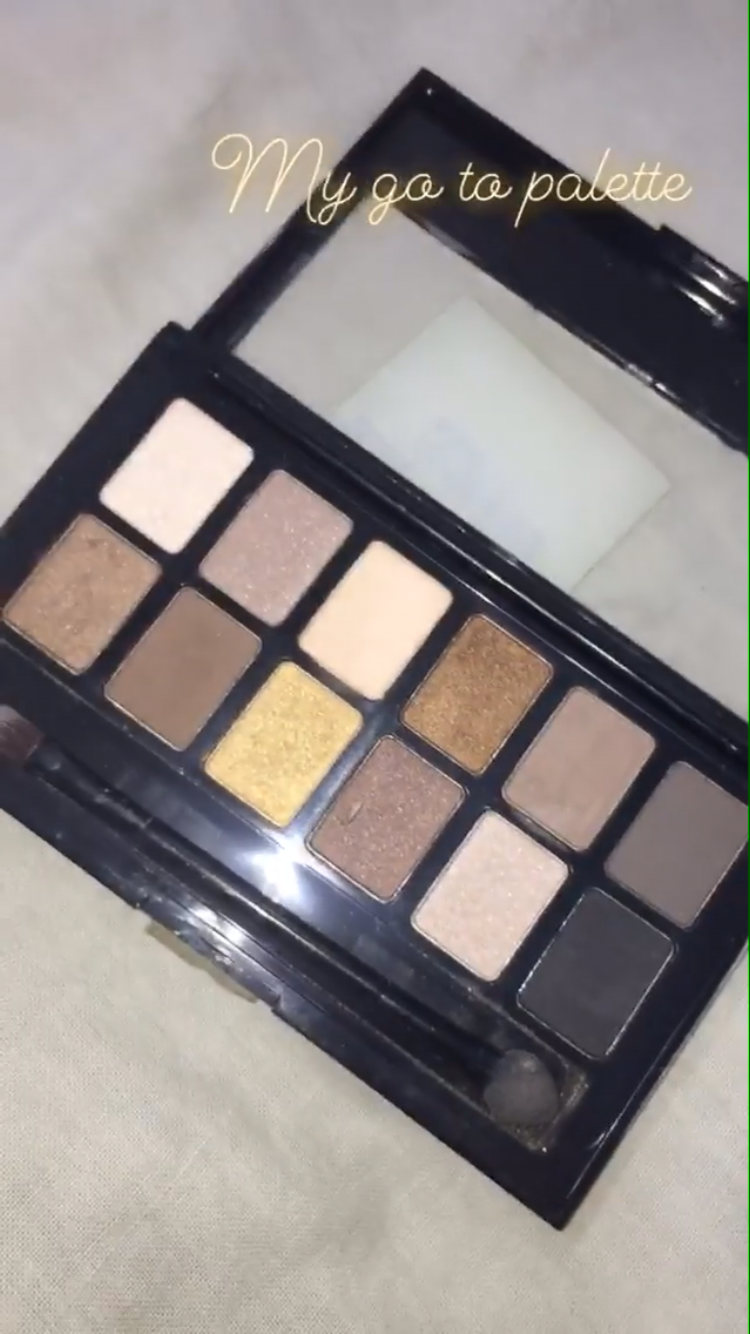 Maybelline New York The Nudes Eyeshadow Palette-My go to palette-By @bhavikaaramani