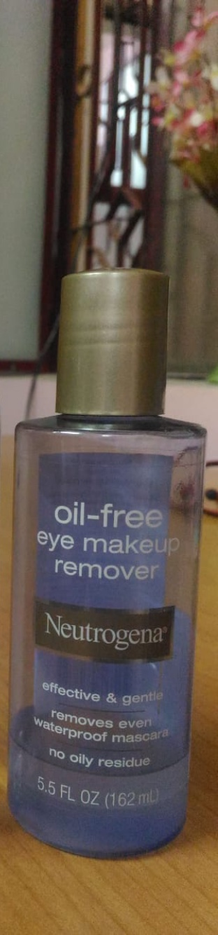 Neutrogena Oil Free Eye Makeup Remover -Very gentle-By ayushidayal