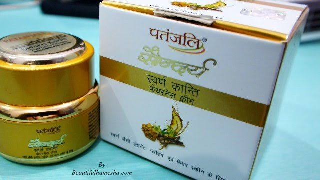 Patanjali Saundarya Swarn Kanti Fairness Cream-Saundarya cream-By aliyaaw_afra