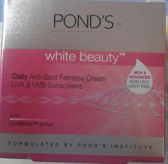 Ponds White Beauty Anti Spot Fairness SPF 15 Day Cream -It is my star-By aliyaaw_afra