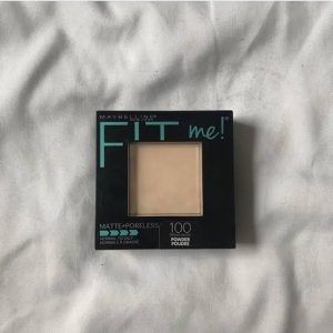 Maybelline Fit Me Matte And Poreless Powder -Dried me out!!!!-By aliyaaw_afra