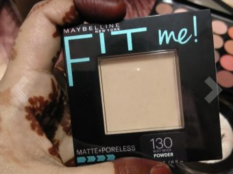 Maybelline Fit Me Matte And Poreless Powder -Great product-By abhi_sharma