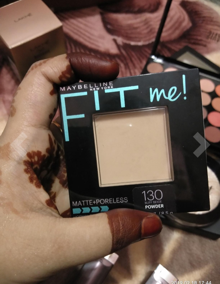 Maybelline Fit Me Matte And Poreless Powder-Great product-By abhi_sharma