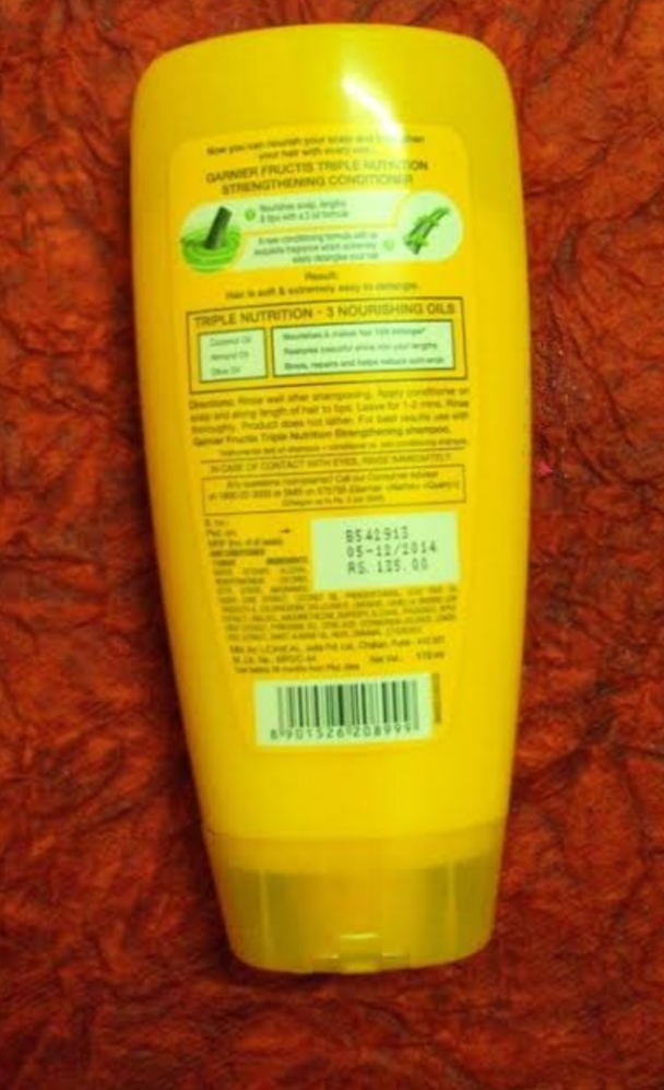 Garnier Fructis Triple Nutrition Fortifying Conditioner-Amazing product-By abhi_sharma