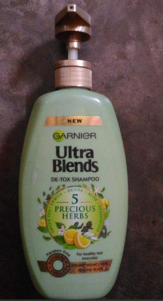 Garnier Ultra Blends 5 Precious Herbs Shampoo-Great product-By abhi_sharma
