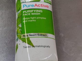 Garnier Skin Naturals Pure Active Neem Face Wash pic 1-Cleanses from with in-By aparna_dhakne
