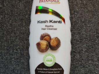 Patanjali Kesh Kanti Reetha Hair Cleanser pic 1-Highly Affordable and Effective-By swati_patwal