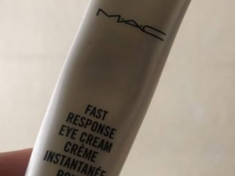 MAC Fast Response Eye Cream pic 1-Perfect but expensive-By Nasreen