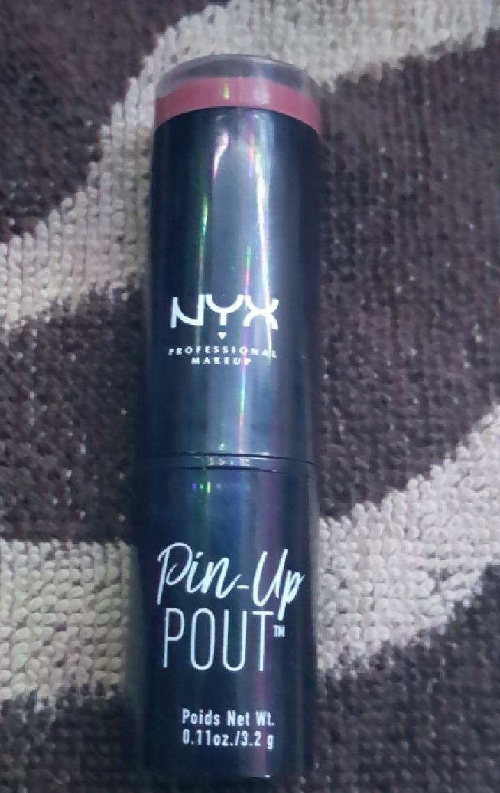 NYX Professional Makeup Pin-Up Pout Lipstick-pigmented well but not smudges-By Nasreen-2