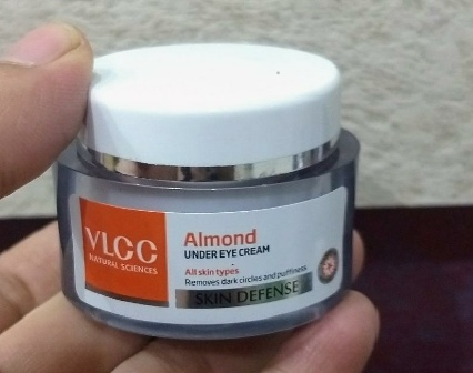 VLCC Almond Under Eye Cream pic 2-works great on dark circles-By Nasreen