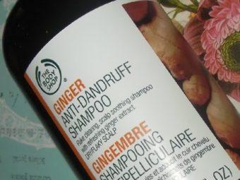 The Body Shop Ginger Anti-Dandruff Shampoo pic 1-works great on dandruff-By Nasreen