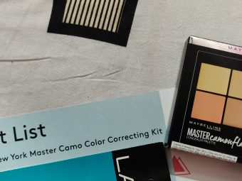 Maybelline New York Master Camo Color Correcting Kit -Great quality, portable and adorable package-By phenix