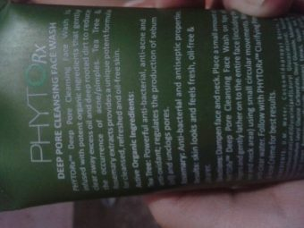 Lotus Herbals Phyto Rx Daily Deep Cleansing Face Wash pic 2-works great on oily skin-By Nasreen