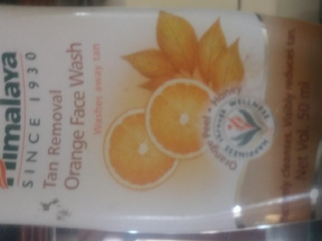 Himalaya Tan Removal Orange Face Wash-improves complexion-By Nasreen-1
