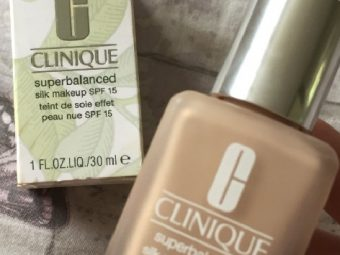 Clinique Superbalanced Silk Makeup Broad Spectrum Spf 15 pic 2-sheer to medium coverage-By Nasreen