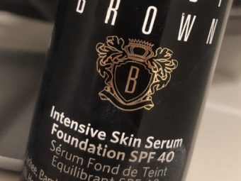 Bobbi Brown Intensive Skin Serum Foundation pic 2-very expensive and does not suit oily skin-By Nasreen
