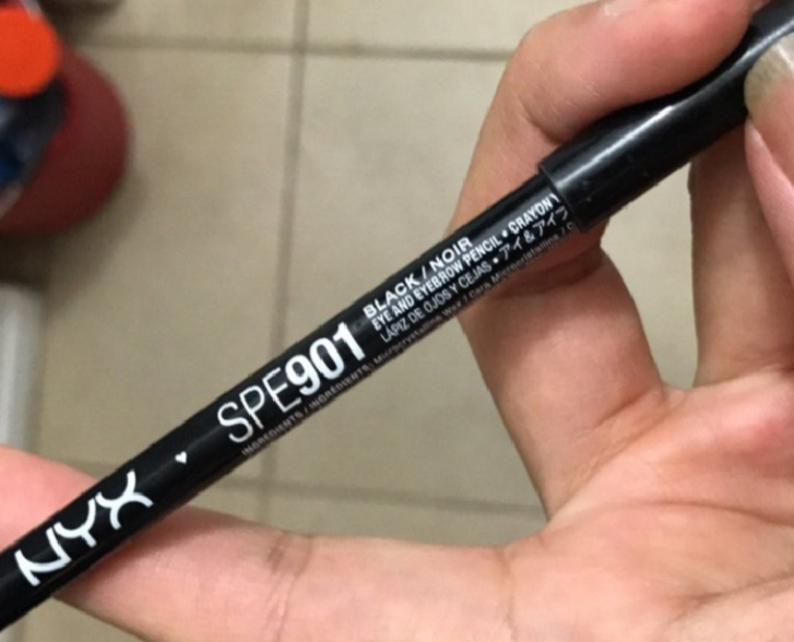 NYX Professional Makeup Slim Eye Pencil-affordable but smudges-By Nasreen-2