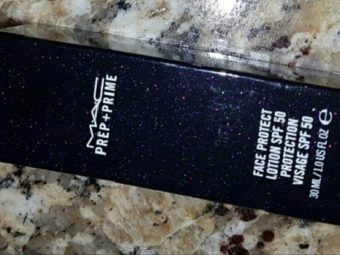 MAC Prep And Prime Face Protect SPF 50 pic 1-works great on oily skin-By Nasreen