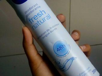 Nivea Fresh Natural Deodorant Spray pic 1-freshness spray-By Nasreen