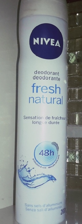 Nivea Fresh Natural Deodorant Spray pic 2-freshness spray-By Nasreen