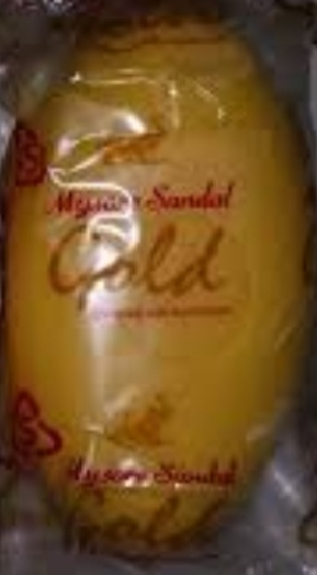 Mysore Sandal Gold Soap-Good fragrance-By Nasreen-1