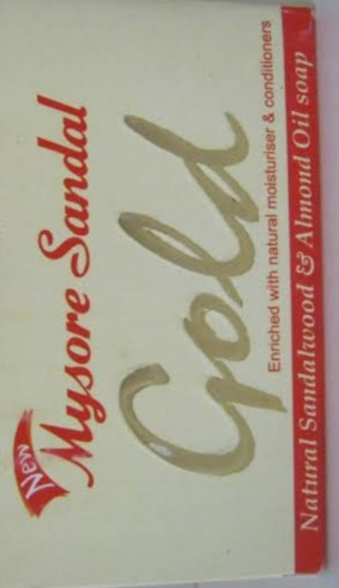 Mysore Sandal Gold Soap-Good fragrance-By Nasreen-2