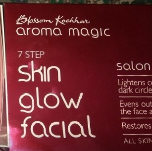 Aroma Magic 7 Step Skin Glow Facial Salon Range-Best for people who stay at home without going to parlour-By Nasreen-2
