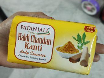 Patanjali Haldi Chandan Kanti Body Cleanser pic 2-Affordable Body Cleanser-By lalitha_satheesh