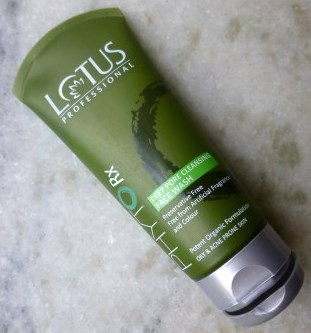 Lotus Herbals Phyto Rx Daily Deep Cleansing Face Wash-Clean and clear skin-By aparna_dhakne