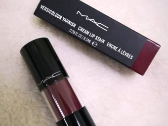 MAC Versicolour Stain Lip Gloss pic 1-Perfect for daily use-By ranjani