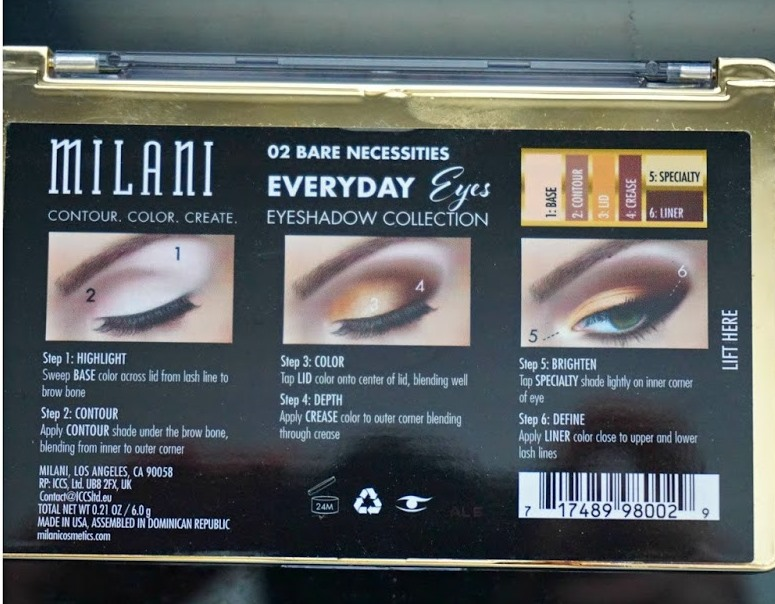 Milani Everyday Eyes Powder Eyeshadow Collection-Endless looks-By aparna_dhakne-2