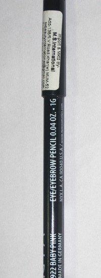 NYX Professional Makeup Slim Eye Pencil-Not worth-By aparna_dhakne-2