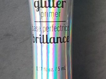 NYX Professional Makeup Glitter Primer pic 2-Little goes a long way-By aparna_dhakne