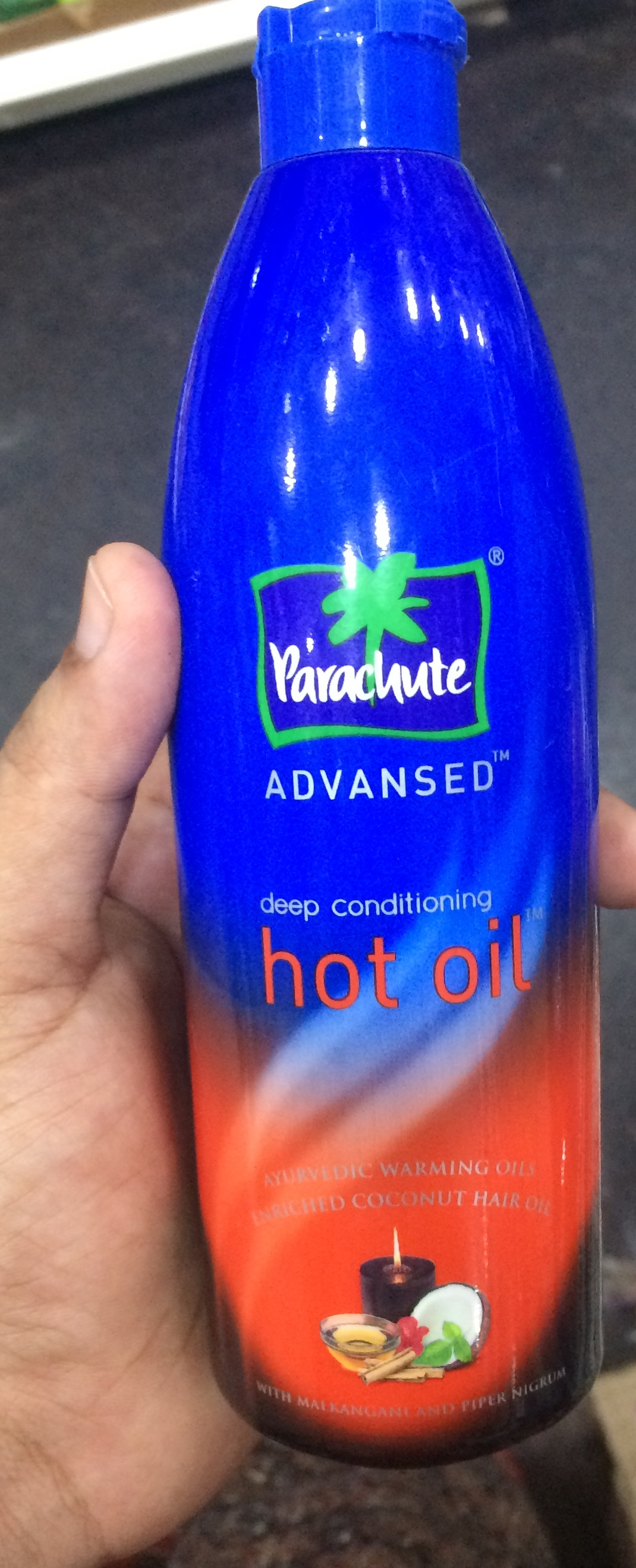 Parachute Advansed Ayurvedic Hot Oil-Non Sticky Hair Oil-By sindoori_jayaprakash-1