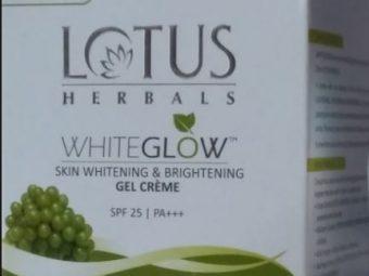Lotus Herbals Whiteglow Skin Whitening & Brightening Gel Creme SPF 25 PA+++ -Good Product-By kirti_sharma