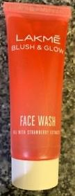 Lakme Blush & Glow Strawberry Face Scrub-Great face wash-By kirti_sharma-1