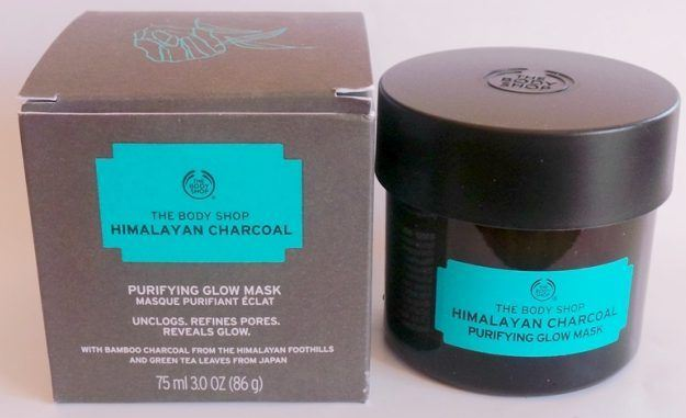 The Body Shop Himalayan Charcoal Purifying Glow Mask-Best glow mask ever came across-By kirti_sharma-2