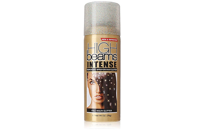15. High Beams Intense Temporary Spray-On Hair Glitter