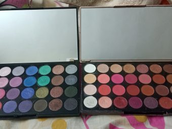 Makeup Revolution Ultra 32 Eyeshadow Palette -Affordable and colourful!-By vasundhara_juyal