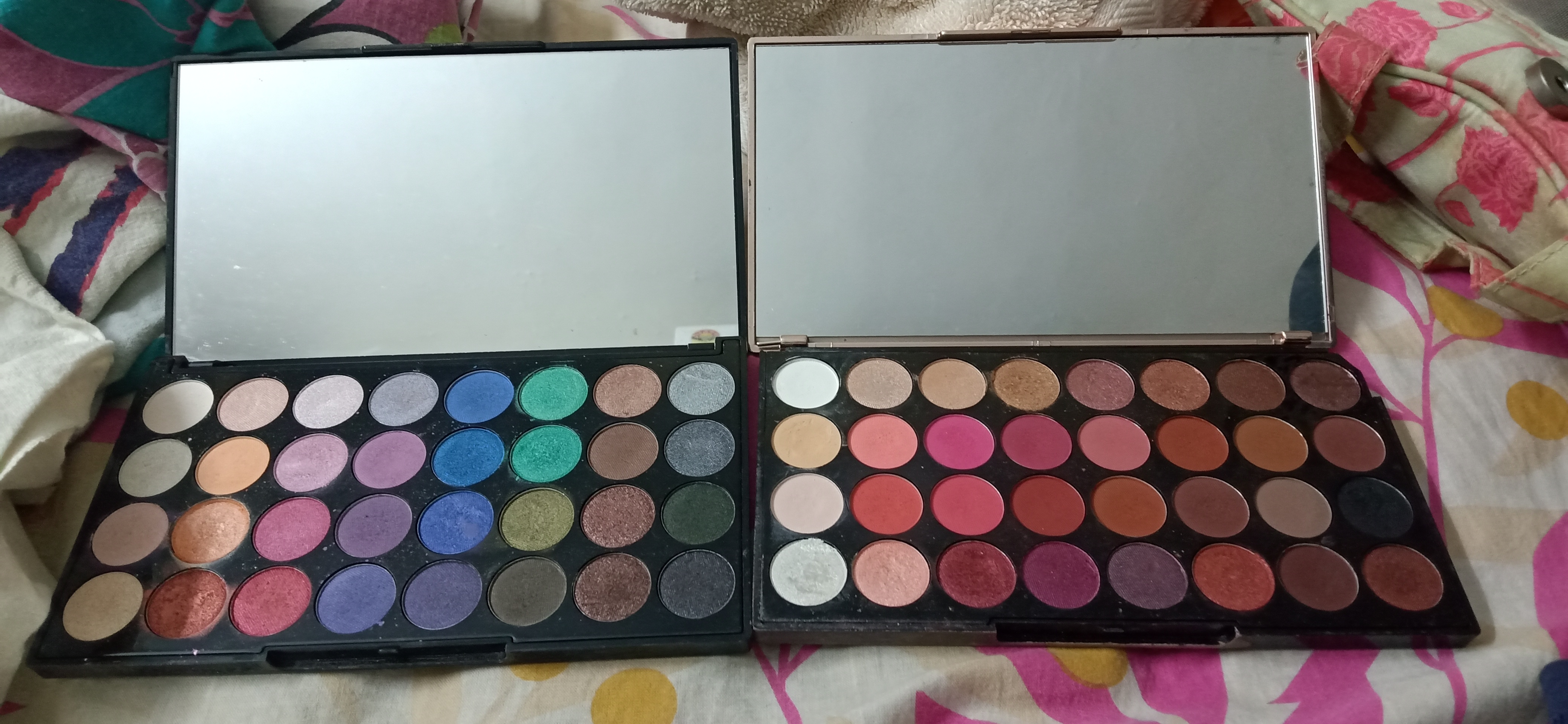 Makeup Revolution Ultra 32 Eyeshadow Palette-Affordable and colourful!-By vasundhara_juyal