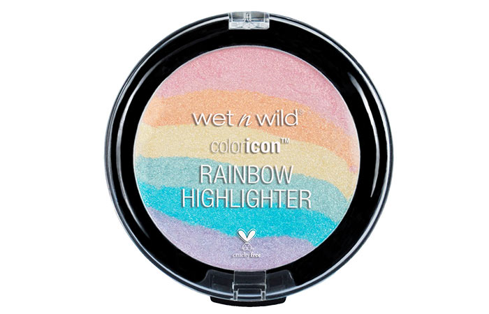 2. Wet N Wild Rainbow Highlighter