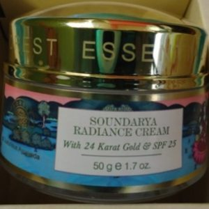 Forest Essentials Soundarya Radiance Cream With 24K Gold And SPF25 pic 2-Impressive ingredients-By manju_