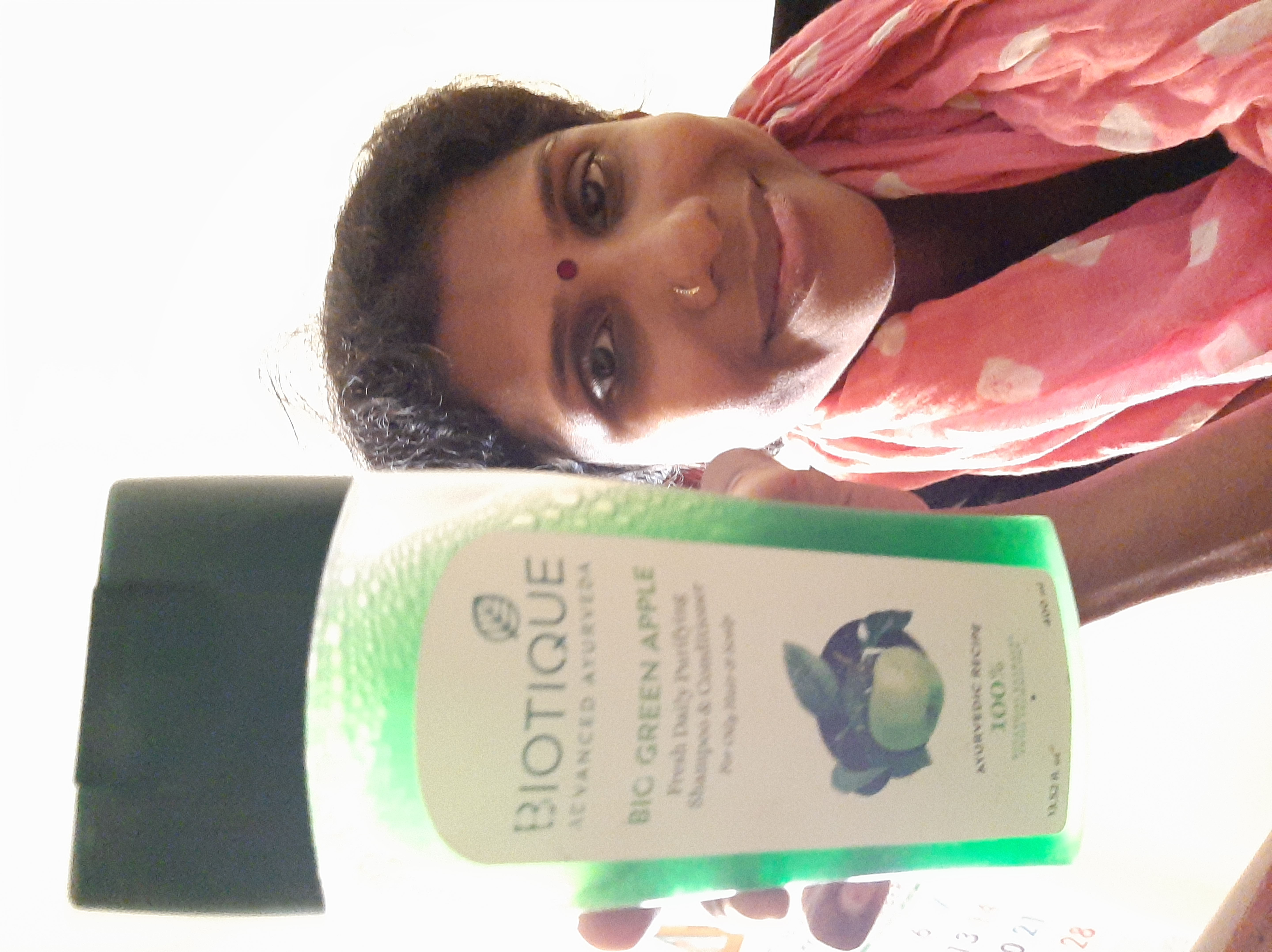 Biotique Bio Green Apple Fresh Daily Purifying Shampoo & Conditioner pic 2-Cleans effective-By saraswathig