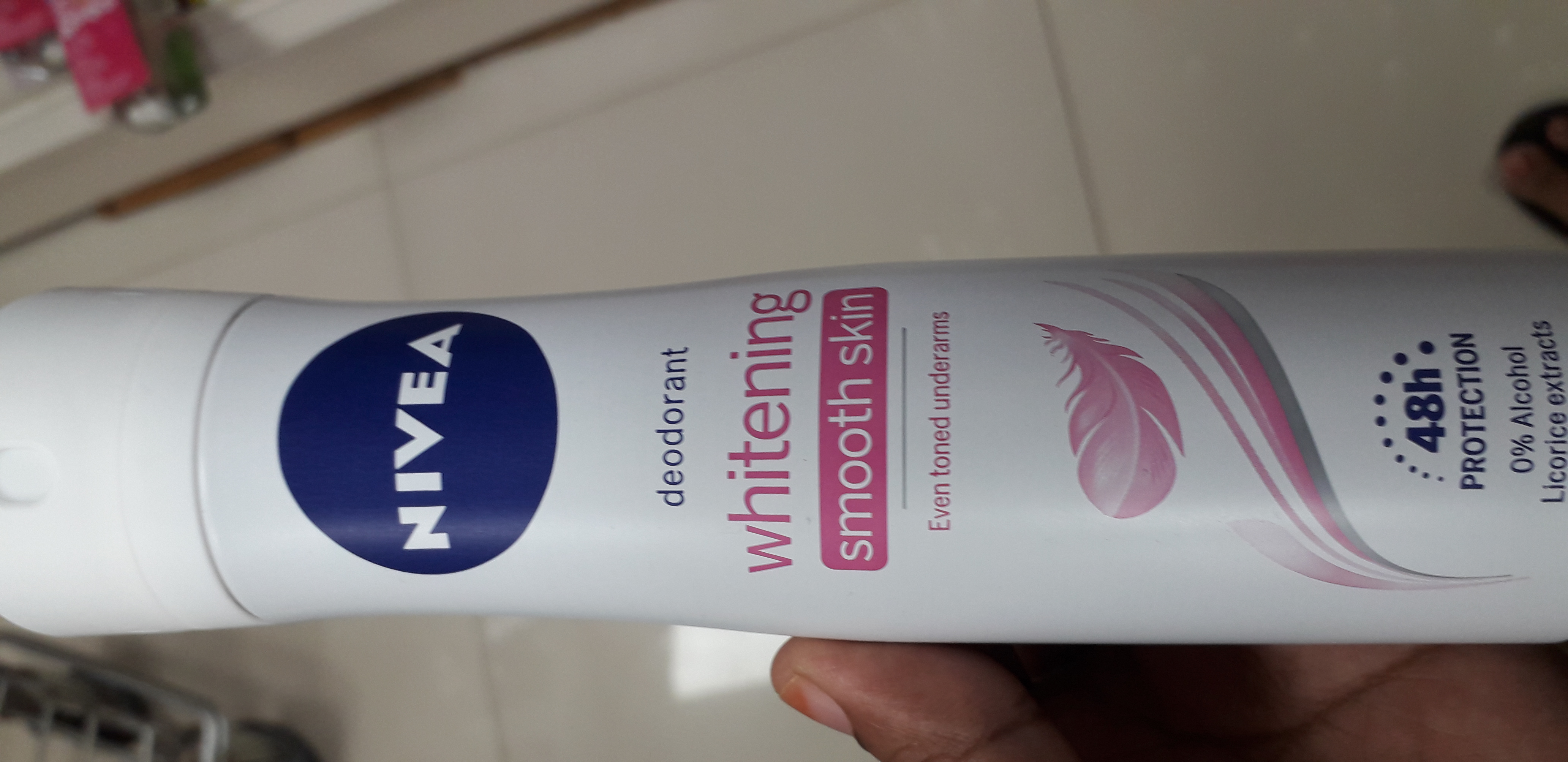 Nivea Whitening Smooth Skin Deodorant Roll On-Overwhelming fragrance-By manju_-2
