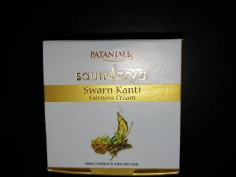Patanjali Saundarya Swarn Kanti Fairness Cream pic 1-Rich in Ayurvedic ingredients-By riya_neema