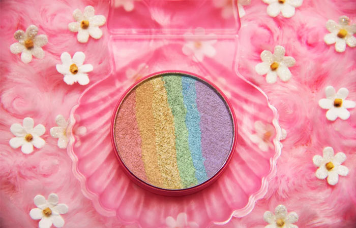 4. Chaos Makeup Kaleidoscope Rainbow Highlighter