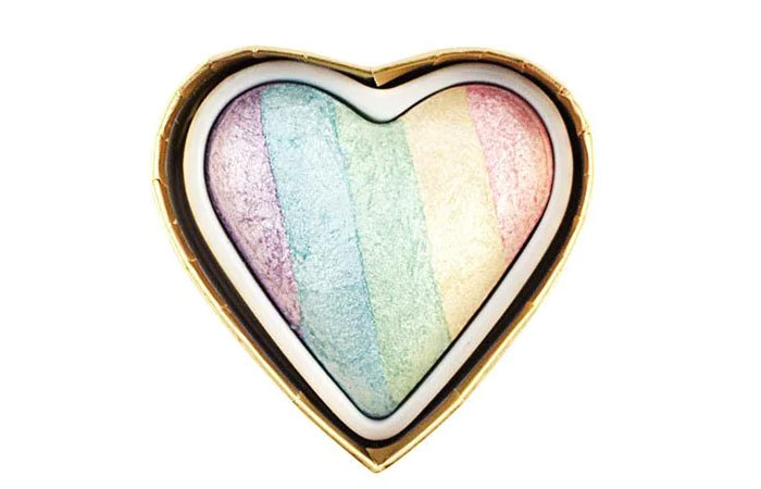 7. Heart Revolution Unicorn Rainbow Highlighter