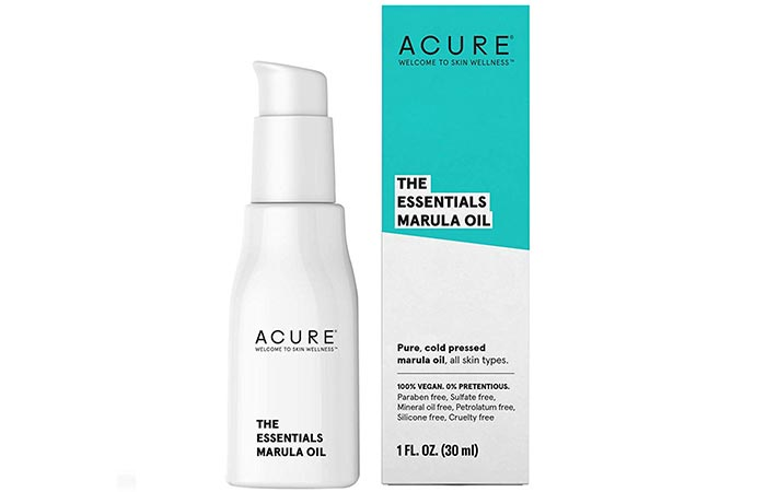 Acure Organics 100% Wildcrafted Marula Oil