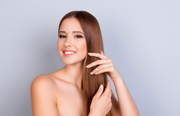 Application On Hair