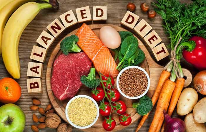 As a balanced diet